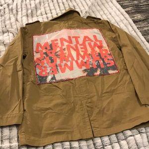 Mental summer Pull & Bear coat